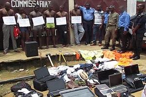 Cameroun-Un gang de 06 malfrats interpellé par les forces de l'ordre à Douala