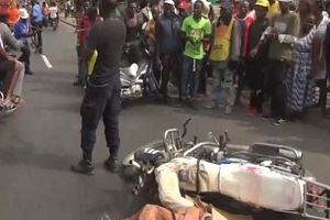 Cameroun-Douala:Un accident de la circulation fait un mort.