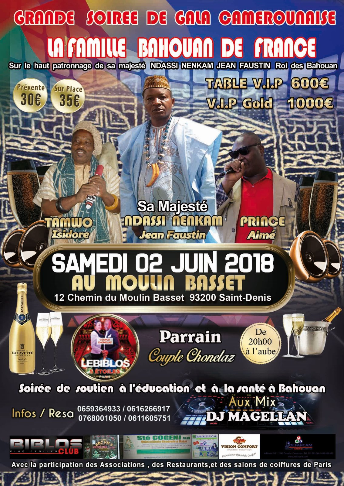 flyer famille bahouan de france