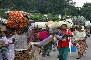 Cameroun-Plan d'urgence humanitaire: La communauté Nigériane du Littoral offre des denrées alimentaires aux déplacés de la crise anglophone.