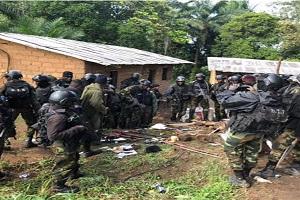 Cameroun: L´armée démantèle un camp d´entrainement des sécessionnistes dans le sud-ouest