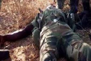 Cameroun-crise anglophone :  Le corps d'un présumé BIR rejeté par l'armée.