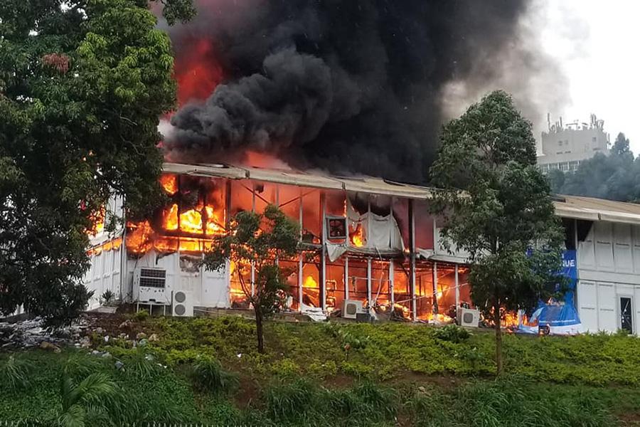 Yaoundé - Cameroun: Un feu signalé au palais des congrès de Yaoundé