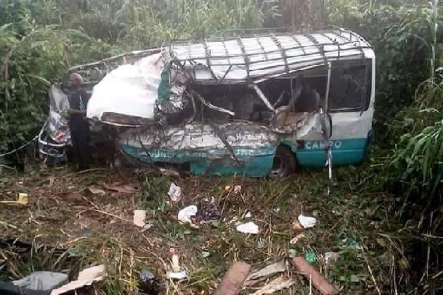 Cameroun- Un accident de la circulation fait plusieurs mort sur l'axe Douala-Bafoussam