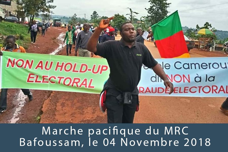 Répression: Une cinquantaine de militants du Mrc interpellée à Bafoussam