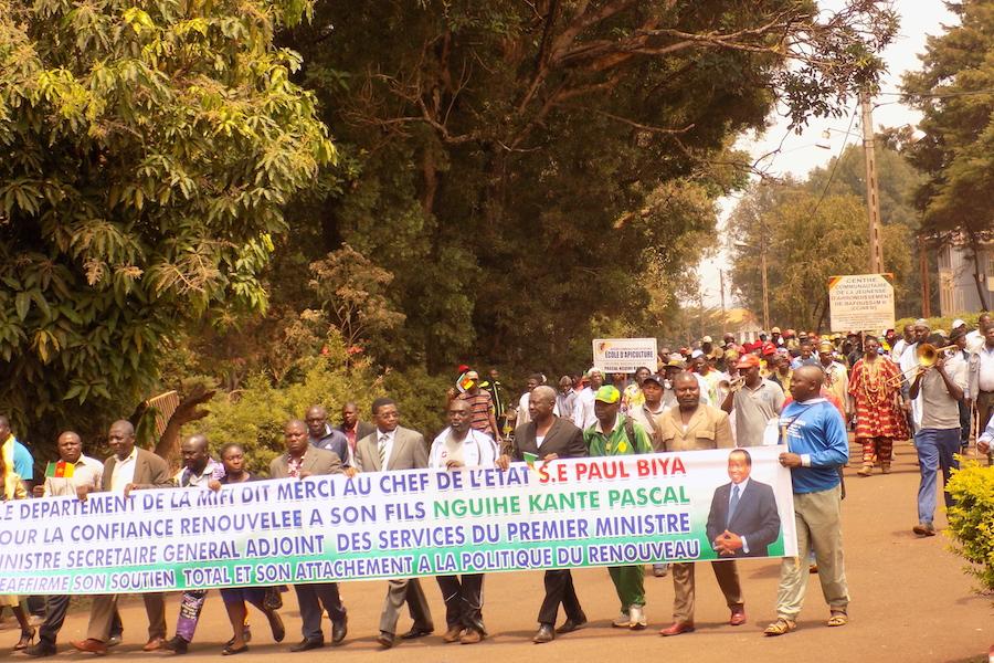 Cameroun-Ouest-Mifi: Le RDPC se déshabille dans les médias