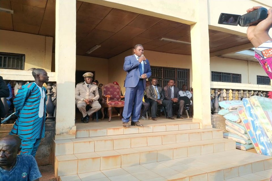 Cameroun : Attaque à Bangourain, le président Paul Biya envoie le ministre Paul Atanga Nji soutenir les populations
