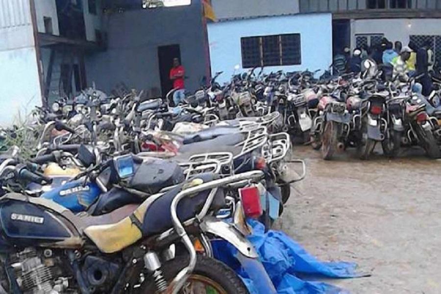 Cameroun-incident à Kribi : plus d 20 moto taximen mis aux arrêts