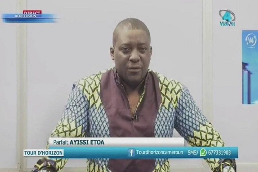 Cameroun- Au sujet de la fermeture annoncée de Vision 4 : Parfait Ayissi «  Depuis je ne dors pas… »