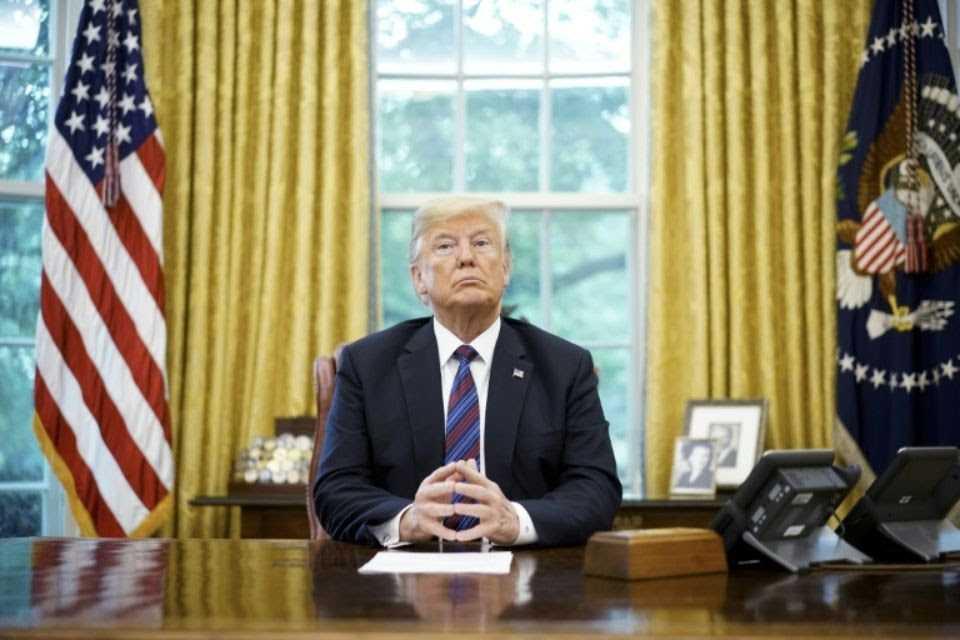 États-Unis : Donald Trump ne renonce toujours pas à la construction de son Mûr à la frontière Mexicaine.