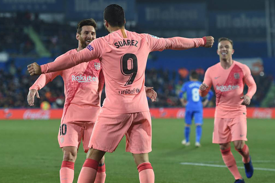 LA LIGA: BONNE OPÉRATION DU FC BARCELONE SUR LA PELOUSE DE GETAFE