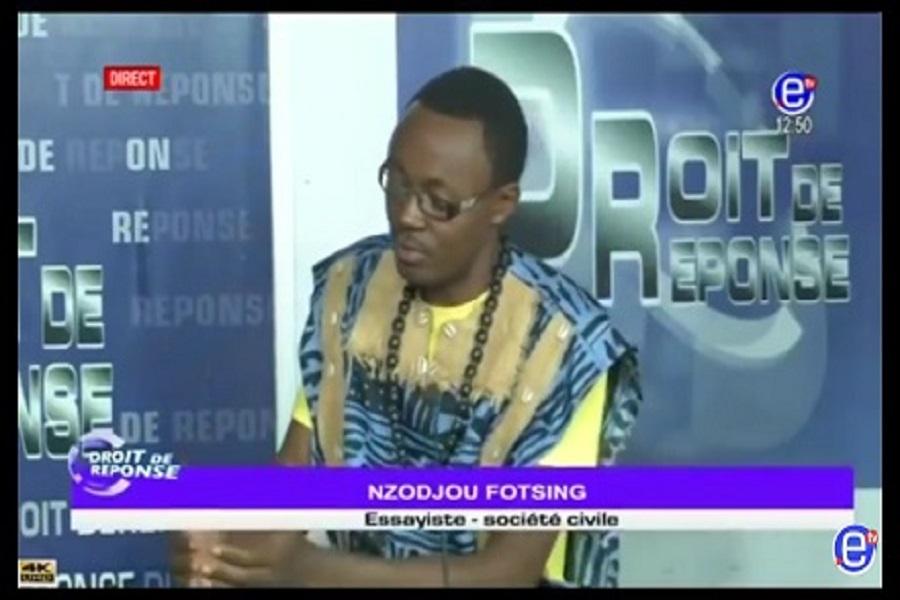 Cameroun : le militant panafricaniste,Fotsing Nzodjou, victime d'un grave accident de la circulation (Photos, âmes sensibles s'abstenir)