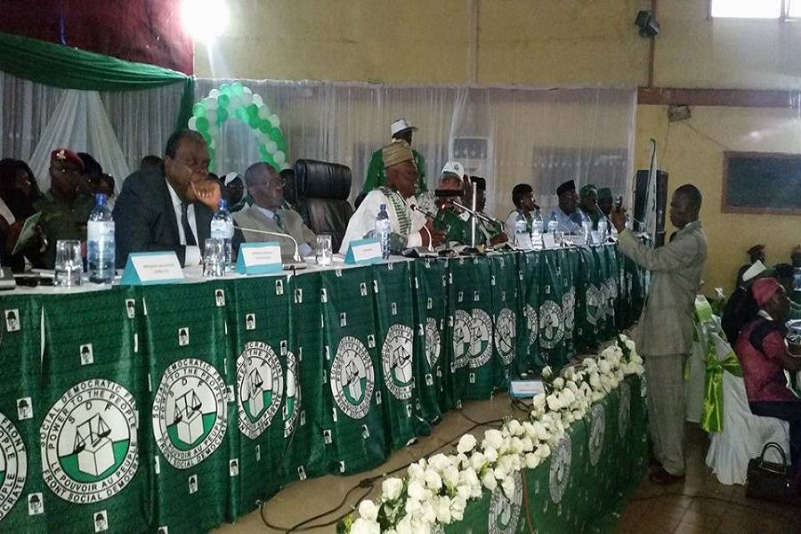 Cameroun-parti politique : un meeting du SDF annoncé le 19 janvier.