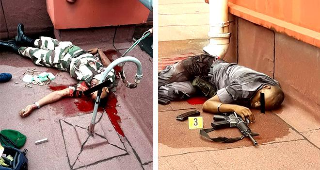 GABON: Coup d'État Manqué , Deux putschistes abattu et sept autres arrêtés.