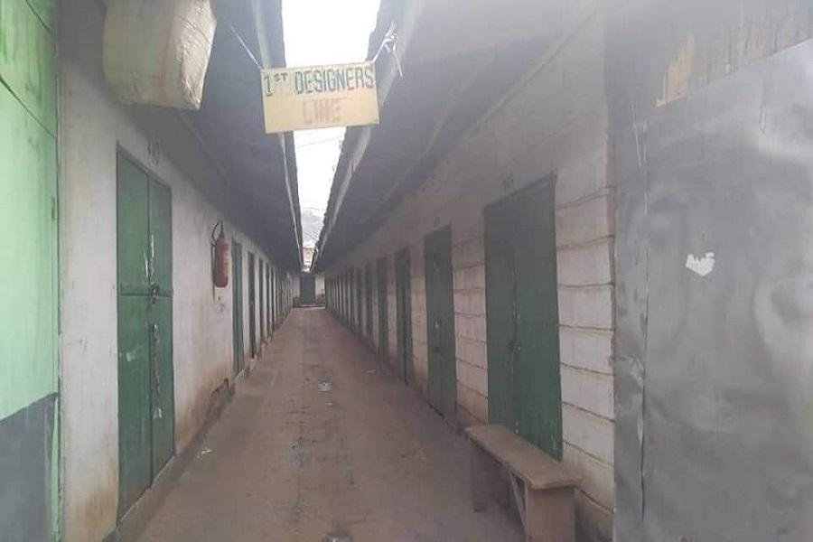 Cameroun-Buea : de nombreuses boutiques scellées pour respect de ville morte.