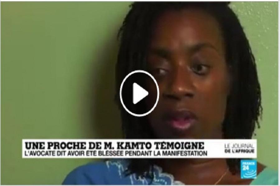 Témoignage émouvant de Me Michelle Ndoki sur France 24, « Depuis je me cache, parce que Je crains pour ma vie » (vidéo)