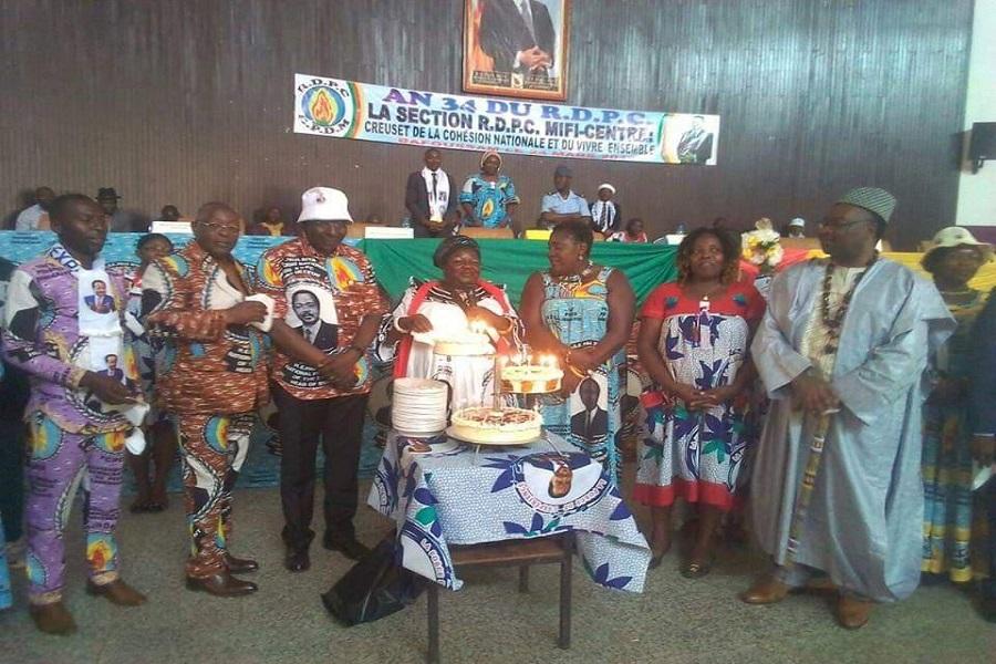 Célébration du 34ème anniversaire du RDPC: Bafoussam a répondu à l'appel
