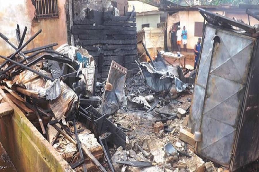 Cameroun : Incendie ce lundi à la délégation régional des travaux publics dans le centre.