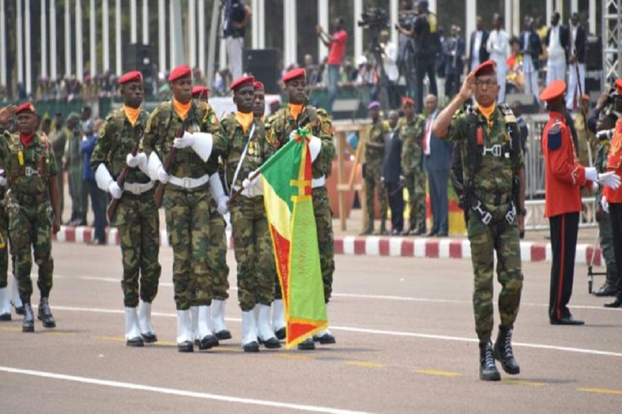 Défilé du 20 mai : l'armée congolaise à l'honneur