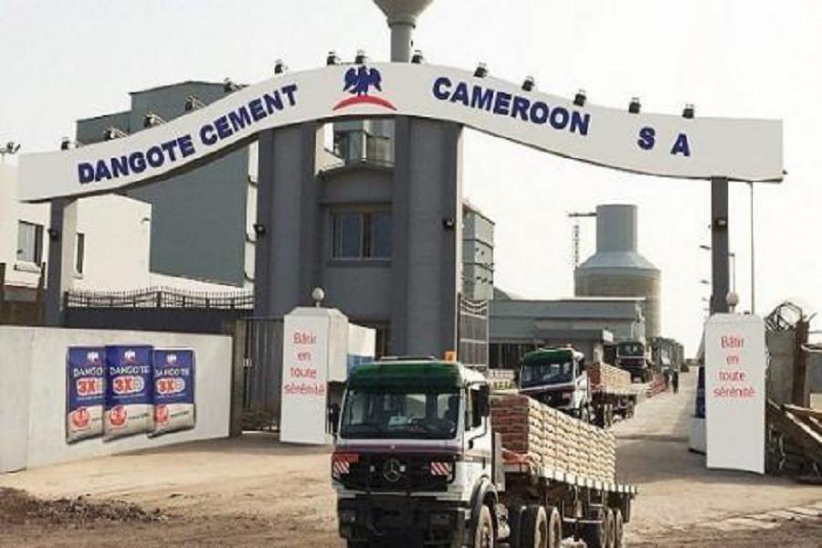 CAMEROUN-INDUSTRIE : Dangote Cement annonce une chute drastique des ventes.