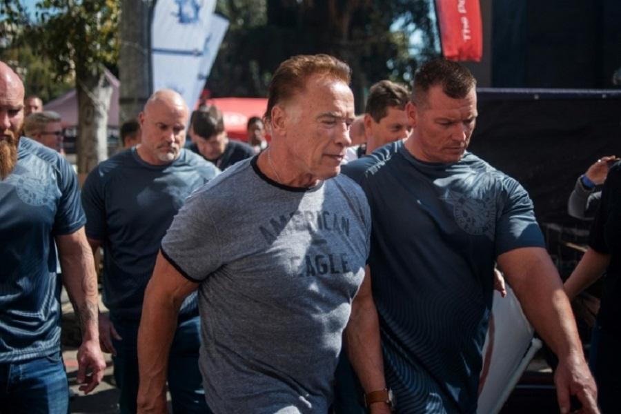Afrique du Sud : Arnold Schwarzenegger attaqué pendant un événement sportif