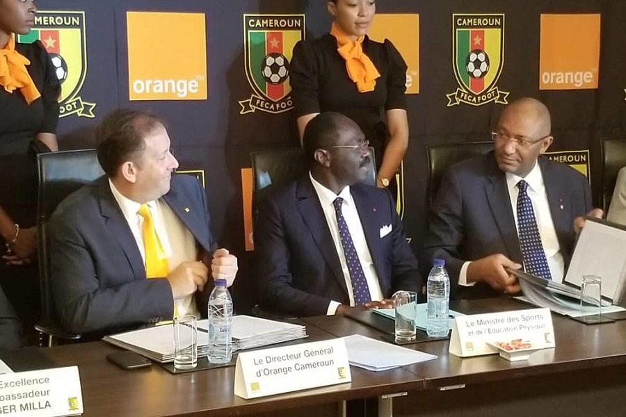 Cameroun-football : orange Cameroun prolonge son bail avec la Fédération camerounaise de football
