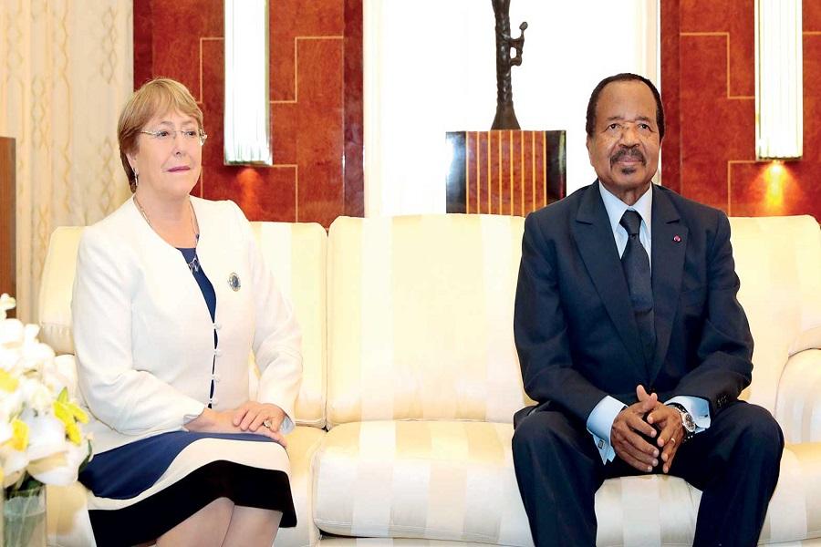 Cameroun-crise anglophone : la visite de Michelle Bachelet est une « piste » pour résoudre la crise anglophone.