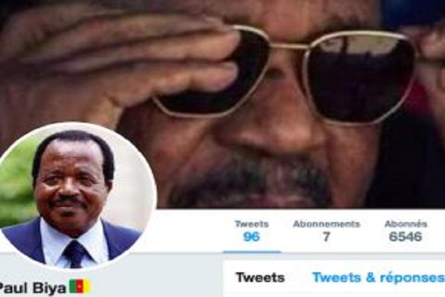 Alerte : Un faux compte Twitter attribué au président Paul Biya