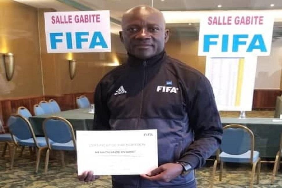 Evarist Mekouande, arbitre international camerounais « J'ai tout donné en arbitrage »