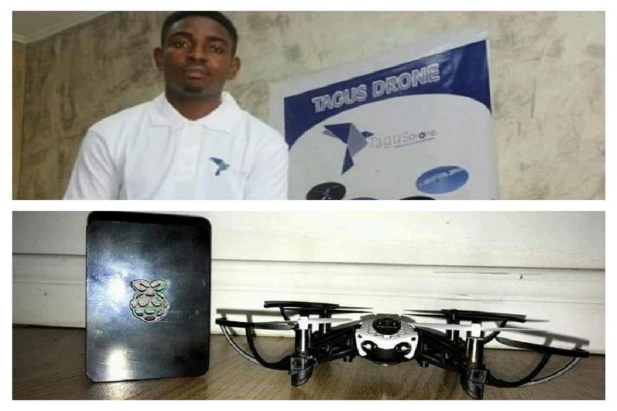 Borel Teguia, ce jeune camerounais qui a conçu le drone pour surveiller les frontières du Cameroun