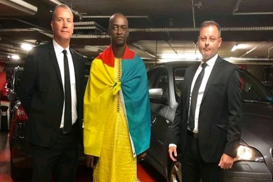Diaspora : Cabral Libii est arrivé à Genève pour la 1ère Convention du mouvement 11 Millions de citoyens