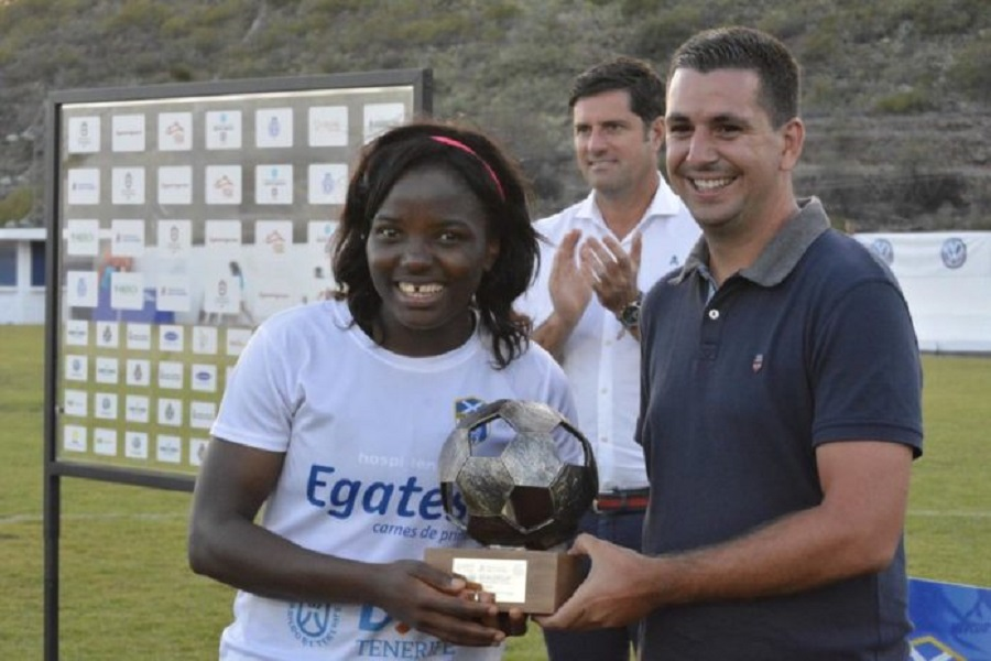 Egalite Cup: La lionne Indomptable, Raïssa Feudjio, désignée meilleure joueuse, UDG