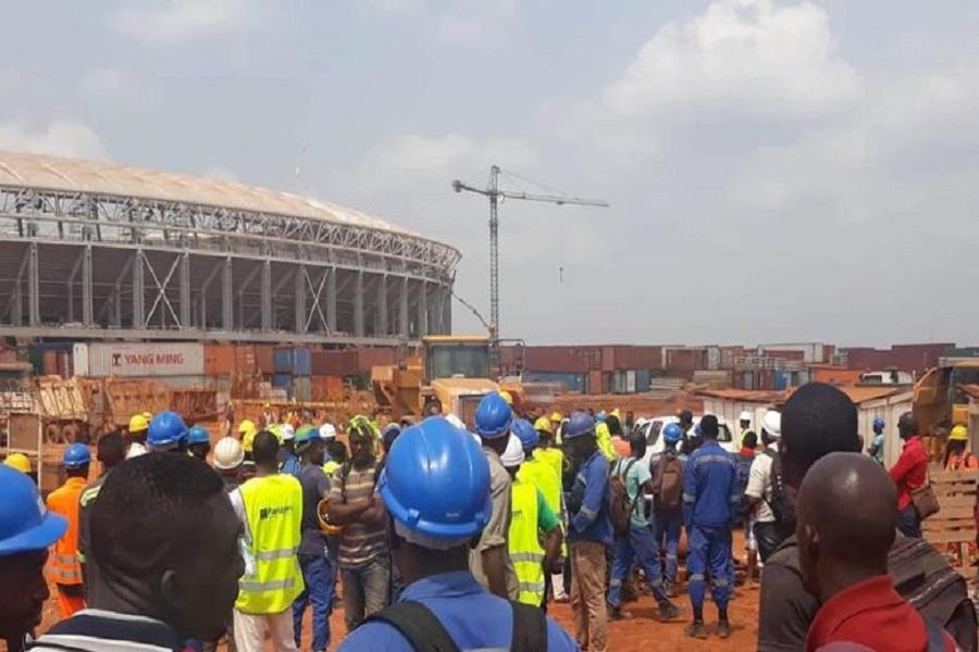 Cameroun- stade Olémbé : Les employés réclament leur argent