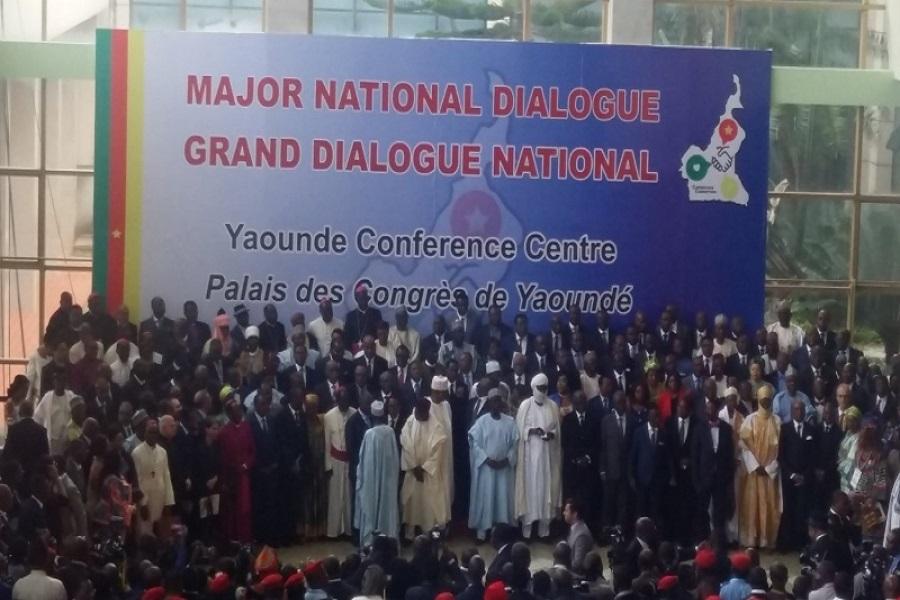 """Résultat de recherche d'images pour """"dialogue national au cameroun"""""""