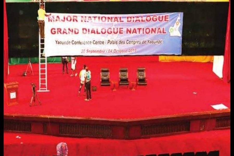 Grand dialogue national : Le Palais des Congrès rénové pour les travaux qui s'ouvrent officiellement ce jour