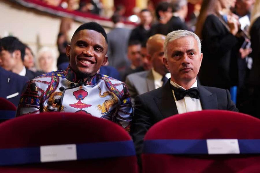 Football : « Samuel Eto'o méritait de gagner un Ballon d'Or », José Mourinho