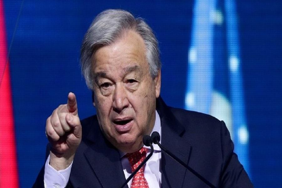 Cameroun-libération de Maurice Kamto : première réaction de Antonio Guterres secrétaire général de l'ONU