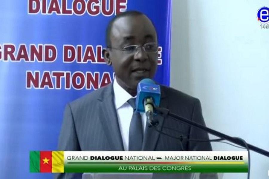 Cameroun : George Ewane, porte-parole du grand dialogue, « il n'y aura pas de second dialogue national »