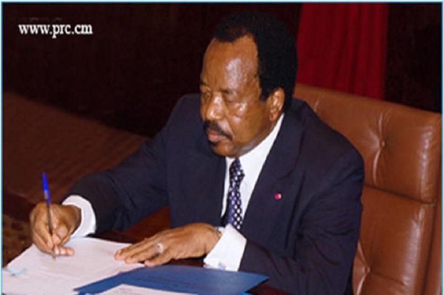 Cameroun : Le président Paul Biya a nommé de nouveaux  préfets