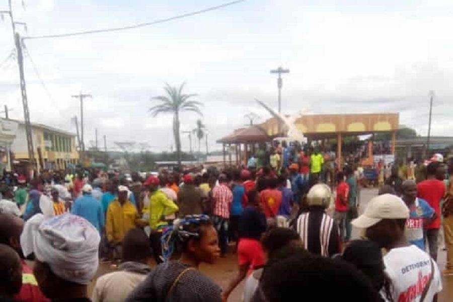 Cameroun : mouvement d'humeur à Sangmelima dans la région du Sud