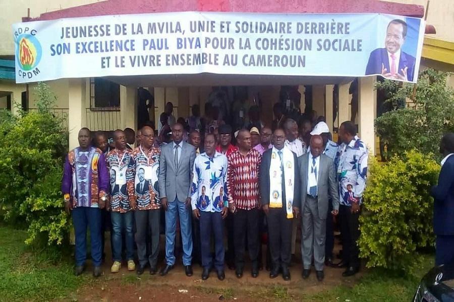 Cameroun : La Mvila est le fief du RDPC, nous n'accepterons jamais qu'un autre parti politique vienne exploiter les frustrations de nos militants