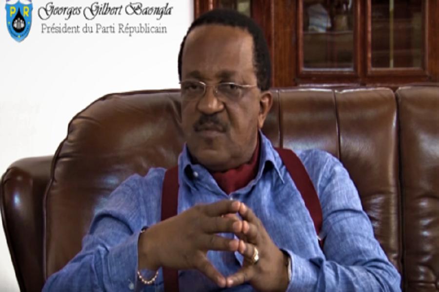 Catastrophe de Gouache : George Gilbert Baongla, depuis sa cellule, communique