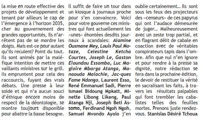 Capture Censure Hebdo